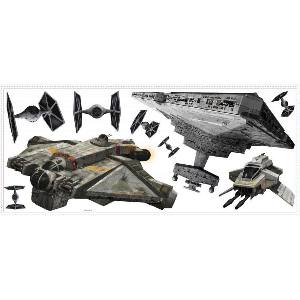 Stickere gigant Star Wars nave