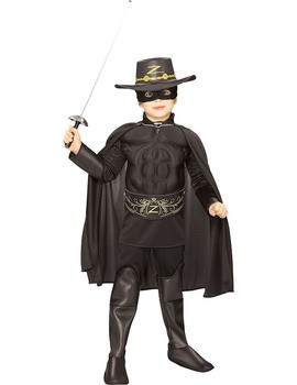 Costum Zorro Deluxe copil