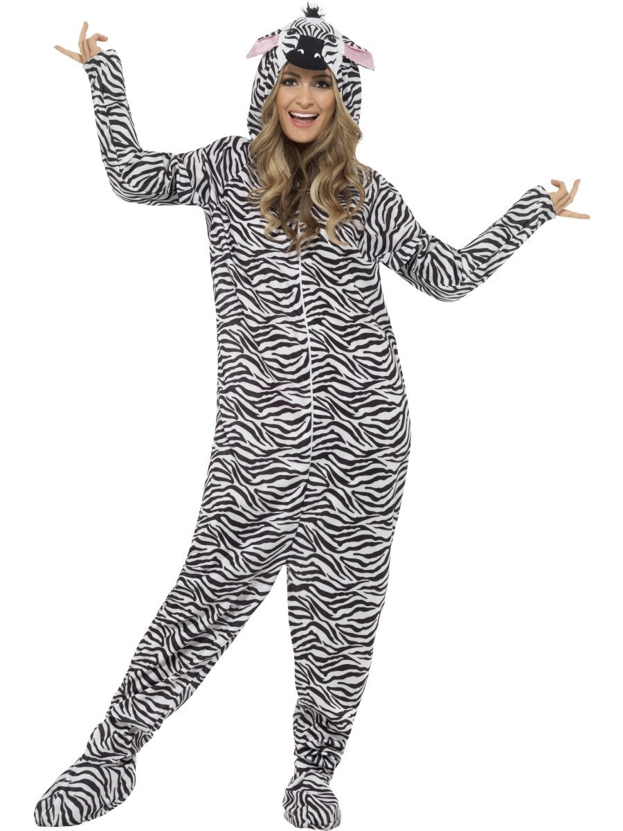 Costum carnaval animale zebra adulti