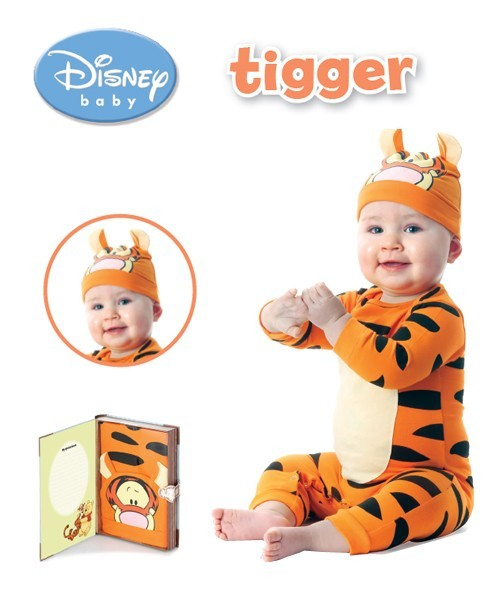 Pijama copii Bebe Disney Tigger Playama