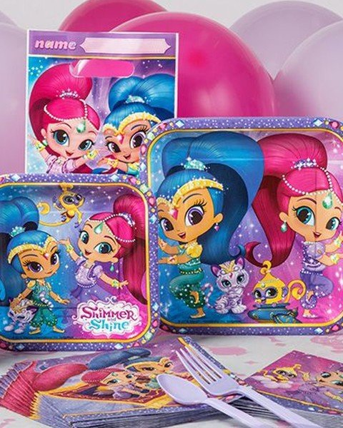 Petrecere Shimmer si Shine