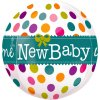"Balon folie orbz sfera ""Welcome New Baby"" 40 cm"