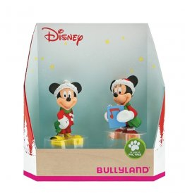Figurina Set Minnie si Mickey Craciun
