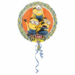 Balon folie jumbo muzical Despicable Me 71cm