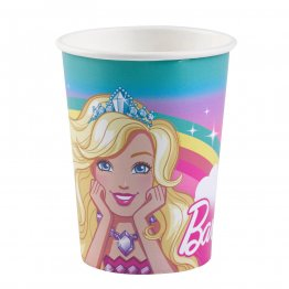 Set 8 pahare party Barbie Dreamtopia 250 ml