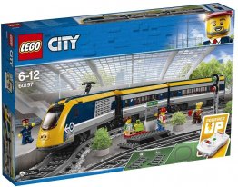 Lego city tren de calatori 60197