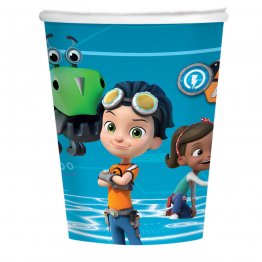 Set 8 pahare party Rusty Rivets Paper 250 ml