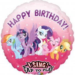 Balon folie jumbo muzical My Little Pony 71cm