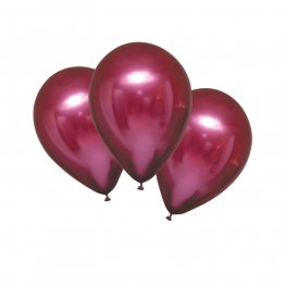 Baloane latex 28 cm Chrome Pomegranate set 6 buc
