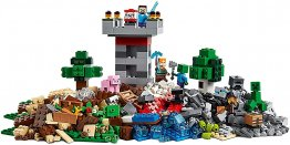 Lego minecraft  cutie de crafting 3.0 21161