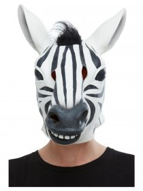 Masca latex zebra