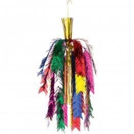 Decor suspendat folie Curcubeu Rainbow 65 cm