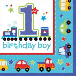 Servetele1st Birthday Boy 16 Buc