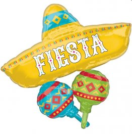 Balon multi folie jumbo Mexican Fiesta