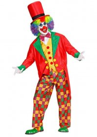 Costum Clown haios adulti Fabrica de Magie