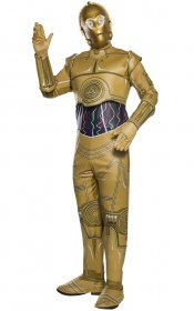 Costum Star Wars robot C-3PO complet adult