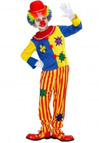 Costum clown copii nazdravan