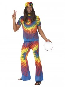 Costum retro anii 60 Hippie Hipnotic