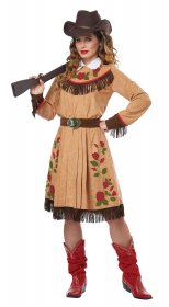 Costum western traditional dama