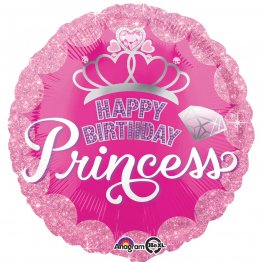 balon-folie-45-cm-princess-happy-birthday