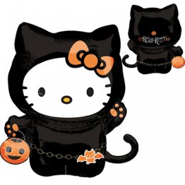 Balon folie figurina hello kitty halloween