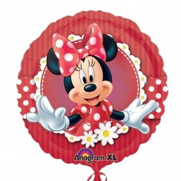 Balon folie 45 cm minnie flowers