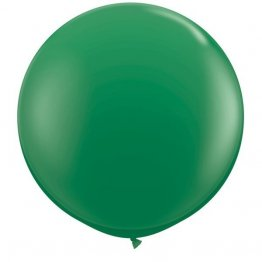 Balon latex jumbo verde - 80 cm