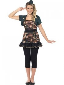 Costum Army fete Miss Jackie