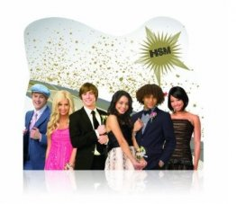 Mouse Pad HIGH SCHOOL MUSICAL White- Disney