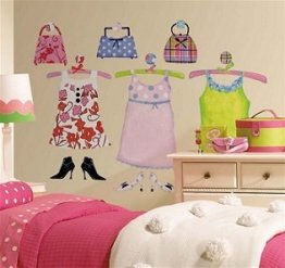 Decoratiuni de perete 57 piese Dress Up