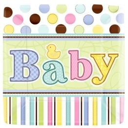 18 farfurii botez 177 cm baby shower party