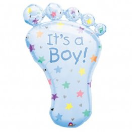 "Balon botez ""It's a boy"" Foot - 82cm"