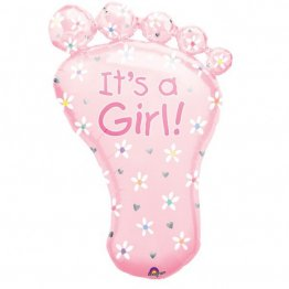 "Balon botez ""It's a girl"" Foot - 82cm"