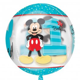 balon-orbz-mickey-1st-birthday-transparent