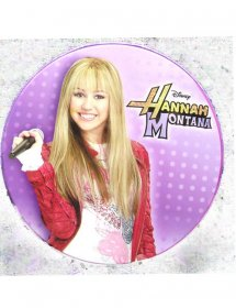 Suport stocare CD/DVD Hannah Montana