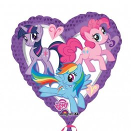 balon-folie-45-cm-inima-little-pony