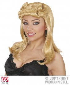 Peruca pin up blonda