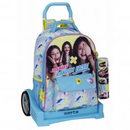 Troler evolution ghiozdan 704 penar soy luna faces 43 cm