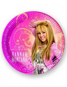 Farfurii Hannah Montana party