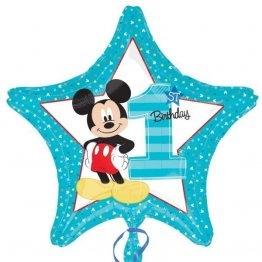 balon-folie-45-cm-stea-mickey-1st-birthday
