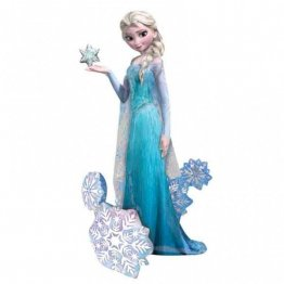 Balon folie airwalker elsa frozen