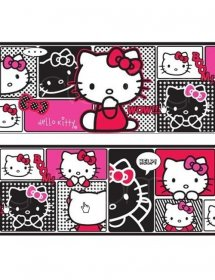 bordura-de-perete-hello-kitty