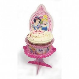 Set 4 mini standuri pentru briose princess