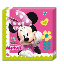 Set 20 servetele party minnie happy helpers