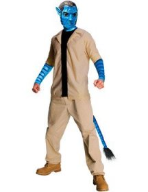Costum Avatar Jake Sully adult