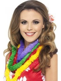 Set Hawaii coliere multicolore