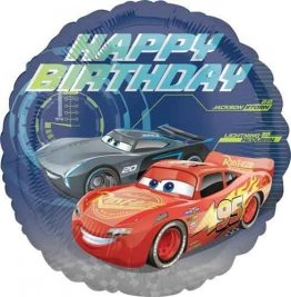 balon-folie-45-cm-cars-happy-birthday