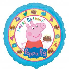 Balon-folie-45-cm-Peppa-Pig-Happy-Birthday