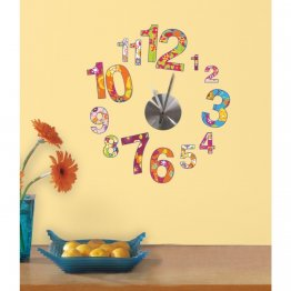 Sticker Ceas COLORFUL CLOCK