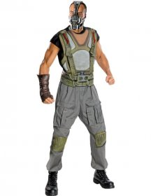 Costum Bane Batman deluxe